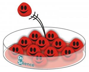 Cultivo celular feliz de On Science